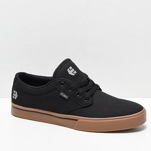 Etnies Jameson 2 Eco Black/Gum/Silver Skate Shoes